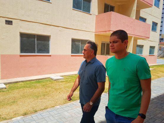 LUCIANO CASAS 556x417 - Prefeito Luciano Cartaxo entrega obras do Residencial Novo São José a 336 famílias nesta quarta-feira