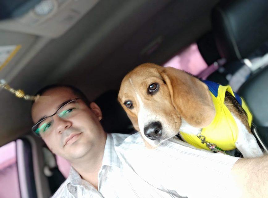 SÉRGIO MORO CÃO - Homem batiza cão de Sérgio Moro e registra o animal como membro da família