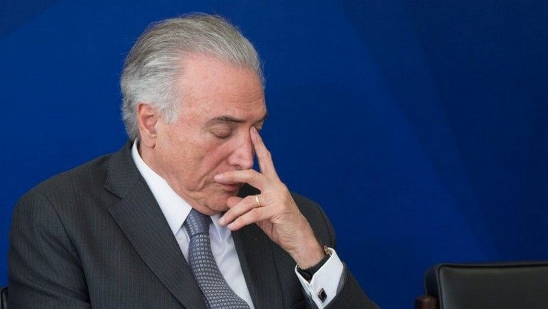Temer - PGR denuncia presidente Temer e mais cinco pessoas no Inquérito dos Portos