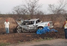 Colisão violenta entre dois veículos na PB-393 deixa duas pessoas feridas, uma delas em estado grave