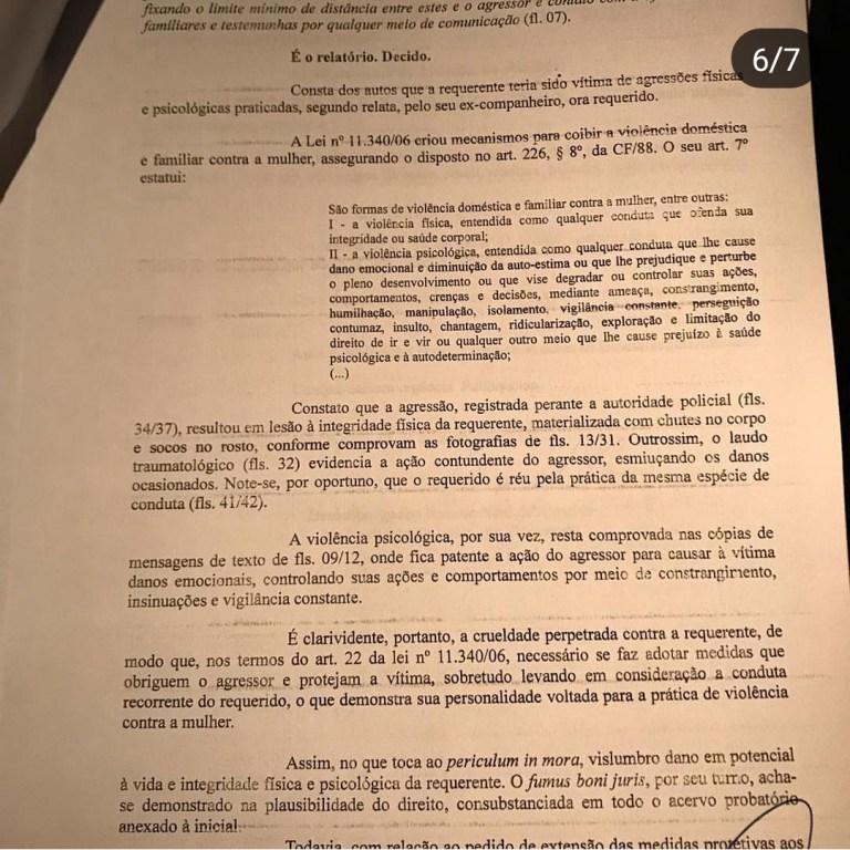WhatsApp Image 2018 12 08 at 22.20.41 1 - FILHA DE SALOMÃO GADELHA: Prefeito de Sousa, Fábio Tyrone agride ex-companheira e é denunciado à Justiça - VEJA FOTOS