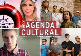 AGENDA CULTURAL: Forró, reggae, pop, confira as principais atrações que agitam o fim de semana em João Pessoa