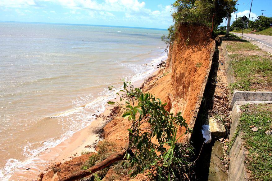 barreira cabo branco walla santos - Governo libera R$ 65 milhões para obra na Barreira do Cabo Branco