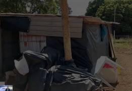 SOLIDARIEDADE: estudantes se unem para ajudar família que vivia em barraco de lona