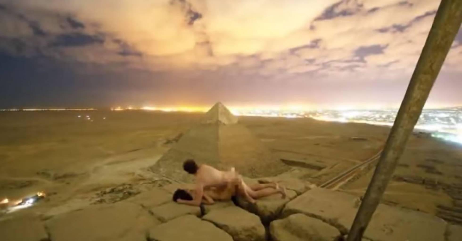 casal piramide sexo - Suposto vídeo de casal fazendo sexo em pirâmide causa escândalo no Egito