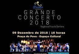 Prima apresenta Grande Concerto de final de ano neste domingo no Espaço Cultural