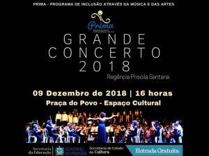 concerto prima 696x522 1 300x225 - Prima apresenta Grande Concerto de final de ano neste domingo no Espaço Cultural