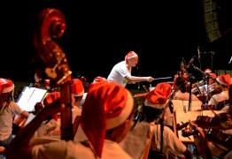 Prefeitura realiza concerto de Natal com Orquestra Sinfônica de João Pessoa e crianças musicistas