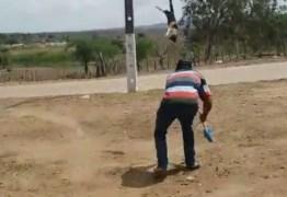 CENAS FORTES: Vídeo de gata sendo torturada em Itabaiana choca a Paraíba e repercute em todo Brasil