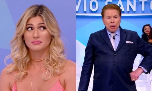 livia e silvio 300x180 - Livia Andrade é acusada de maltratar funcionários no SBT, faz desabafo e chama Silvio Santos no camarim