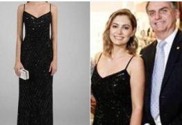 CUSTOU R$520: Michele Bolsonaro escolhe alugar vestido para ir em casamento de Onyx Lorenzoni