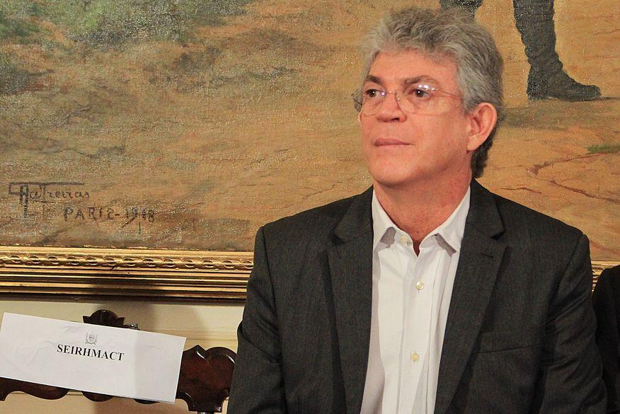 ricardo coutinho nova walla santos - PT da Paraíba aprova moção em apoio ao ex-governador Ricardo Coutinho