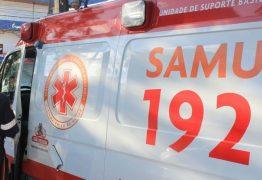 Colisão entre motocicletas deixa condutor ferido gravemente em João Pessoa
