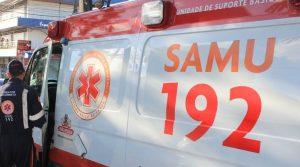 samu monteiro 300x167 - ACIDENTE: Colisão entre carro e caminhão deixa pelo menos três pessoas feridas em Santa Rita