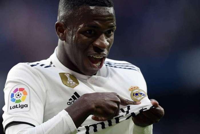 Real Madrid escala Vinicius Junior para disputar o Mundial de Clubes