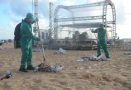 Semhab e Emlur promovem catação de lixo na orla de João Pessoa neste sábado