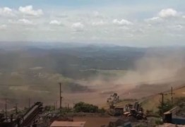 "IMAGENS FORTES: vídeo mostra ""mar de lama"" após rompimento de barragem em Brumadinho; assista"