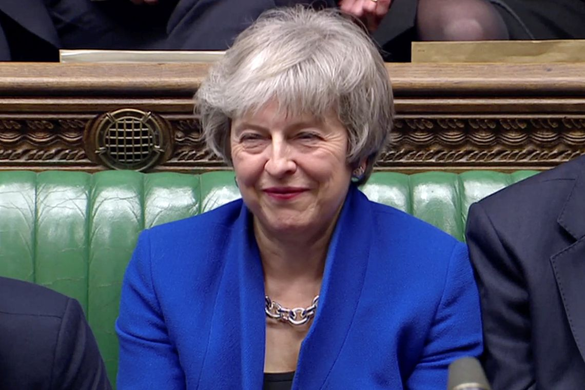 "2019 01 16t193234z 1382907971 rc12981f8190 rtrmadp 3 britain eu - Theresa May deve apresentar hoje ""plano b"" para o Brexit"