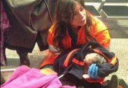 Brasileira dá à luz um menino em aeroporto de Roma