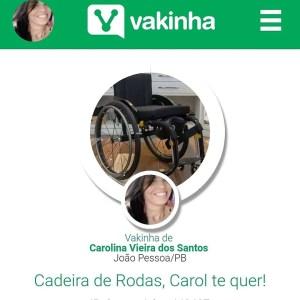 50411451 2026172814131903 4914399977783951360 n 300x300 - VEJA VÍDEO: Paraibana faz campanha para adquirir cadeira de roda