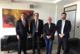 Marcos Vinícius visita presidente do TCE/PB e parabeniza por gestão frente a Corte de Contas