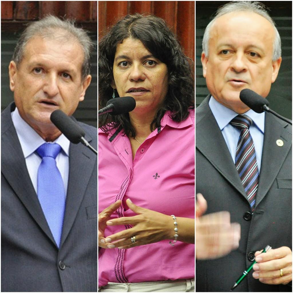 ESTELA JEOVÁ E BRANCO MENDES - HERVÁZIO CONFIRMADO: candidatos à Mesa Diretora do segundo biênio são definidos em reunião entre deputados e governador