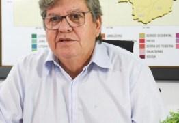 Não temos como aumentar duodécimos, diz João Azevedo