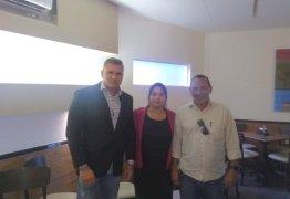 Julian Lemos e Coronel Francisco se reúnem com Karla Pimentel, Aluísio Regis e Leo Carneiro para fortalecimento do PSL no Conde