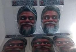 Máscaras de Fábio Assunção já são vendidas no comércio para o carnaval
