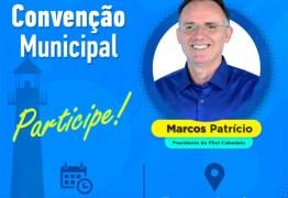 PSOL realiza convenção para oficializar candidatura de Marcos Patrício à Prefeitura de Cabedelo