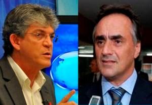 Ricardo Courtinho e Cartaxo1 300x207 - MONTANDO ESTRATÉGIAS: Quem será o grande eleitor de 2020? - Por Francisco Airton