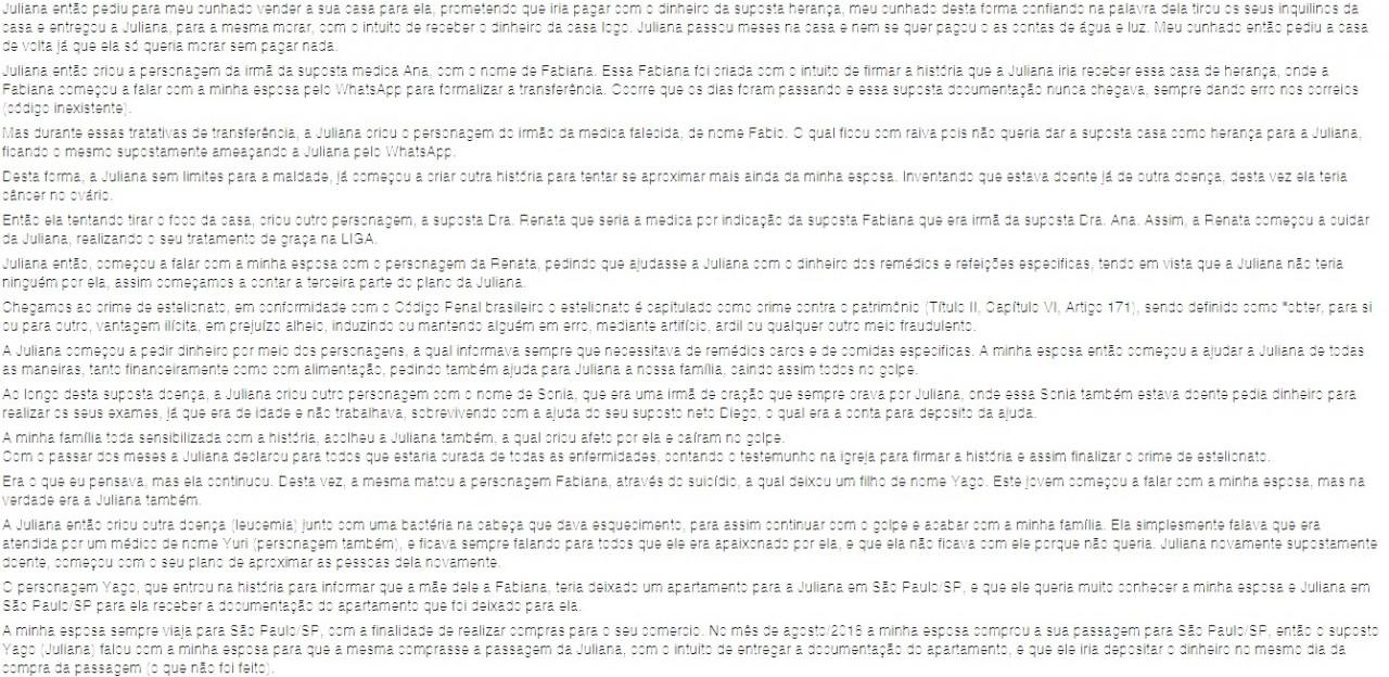 Screen2 - Após ser acusado de assédio, pastor potiguar denuncia fiel à Polícia Civil por estelionato