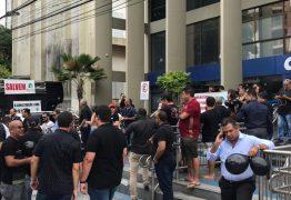 Pequenos construtores fazem protesto por falta de recursos no Minha Casa Minha Vida em João Pessoa