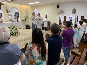 WhatsApp Image 2019 01 26 at 13.19.08 696x522 300x225 - MÃE DO EX-GOVERNADOR: Missa de Sétimo Dia em memória de Dona Natércia é realizada na Capital