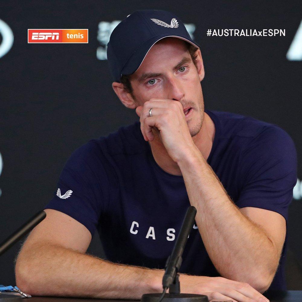 andy murray chorando - Andy Murray anuncia que se aposentará após disputar Wimbledon