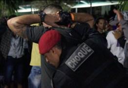 FESTA EM JOÃO PESSOA: Quase 130 pessoas são levadas para delegacia pela Polícia Militar
