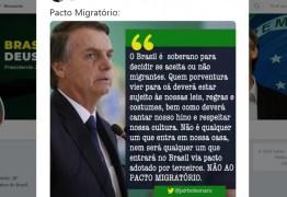 """""""Não é qualquer um que entra em nossa casa"""", diz Bolsonaro sobre imigrantes"""