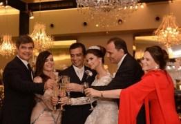 Casamento da filha de Ludgério com filho de Wellington reúne líderes políticos