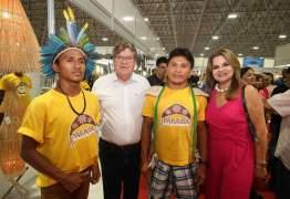Acompanhado pela primeira-dama, governador prestigia 29ª edição do alão de Artesanato da Paraíba