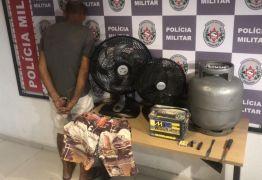 Homem é preso suspeito de invadir residência pela segunda vez em João Pessoa
