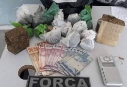 Mulher é presa suspeita de tráfico de drogas em Campina Grande