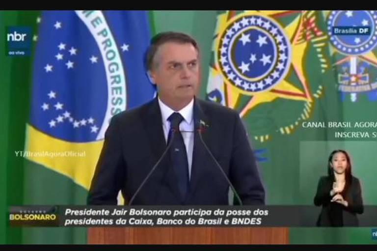 nbr - Após TV estatal usar marca do governo, Bolsonaro publica ato para regulamentar comunicação