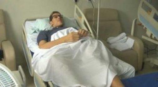 ninão 300x165 - Família faz campanha para adquirir cadeira de rodas para o gigante Ninão