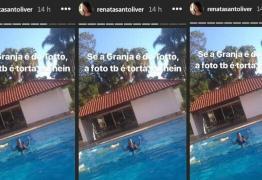VEJA VÍDEO: Amiga de Michelle Bolsonaro pula de roupa na piscina da Granja do Torto