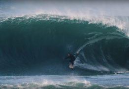 VEJA VÍDEO: Uma das ondas mais pesadas de Portugal encarada por feras do surf