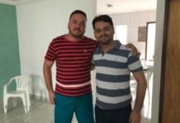 Vereador Adriano do Táxi declara apoio a Berg Lima e passa a compor governo