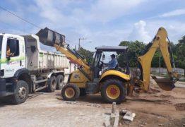 ALHANDRA: Prefeitura inicia segunda etapa das obras de reurbanização no Centro da cidade