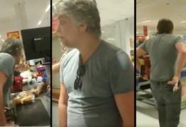 Fábio Assunção protagoniza momento de confusão e embriaguez em hipermercado – VEJA VÍDEO