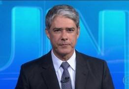 William Bonner comete gafe ao divulgar notícia falsa e pede desculpas aos telespectadores – VEJA VÍDEO