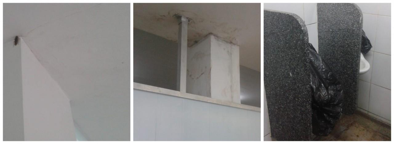 BeFunky collage - DENÚNCIA POPULAR: Insetos e problemas na estrutura de Hospital Infantil do Valentina preocupa usuários